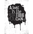 Grunge motivation poster vector image