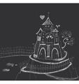 Fairy-tale castle vector image