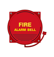 Fire Alarm Bell Sign vector image