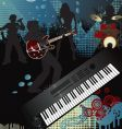 music poster vector image vector image