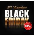 Black Friday 4 vector image