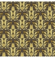old floral seamless pattern vector image