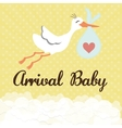 Baby Shower design Invitation concep Colorful vector image