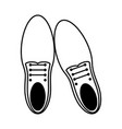 classic shoes icon image vector image