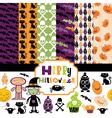 Halloween backgrounds vector image