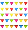 Party Background with Flags Seamless Pattern vector image