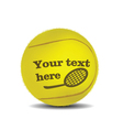 tennis ball vector image