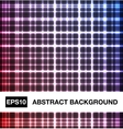 Abstract neon crossed lines vector image