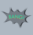 flat icon on theme comic speech bubble vector image