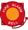 Fire Alarm Bell vector image