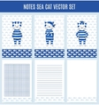 Template wrapping notebooks vector image
