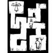 Life Maze vector image