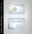 business card Thai style vector image