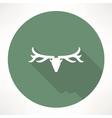 deer head icon vector image vector image