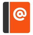 Emails icon from Business Bicolor Set vector image