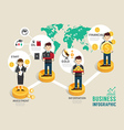 Business investment funds board game flat line ico vector image vector image