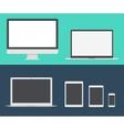 Mac Book iPad Pro vector image