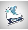Skating icon design vector image