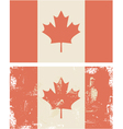 Candian flag vector image vector image