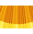 Magic stars on rays of golden light vector image
