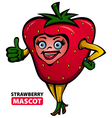 Strawberry Mascot vector image