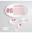 Modern design for business vector image vector image