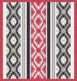 textile ornamental pattern vector image