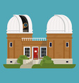 Observatory vector image