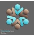 Social Network Logo vector image