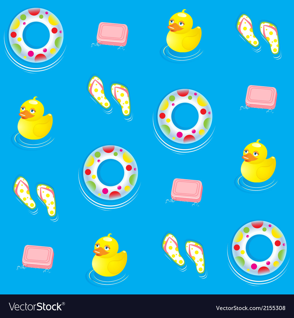Blue water pattern vector