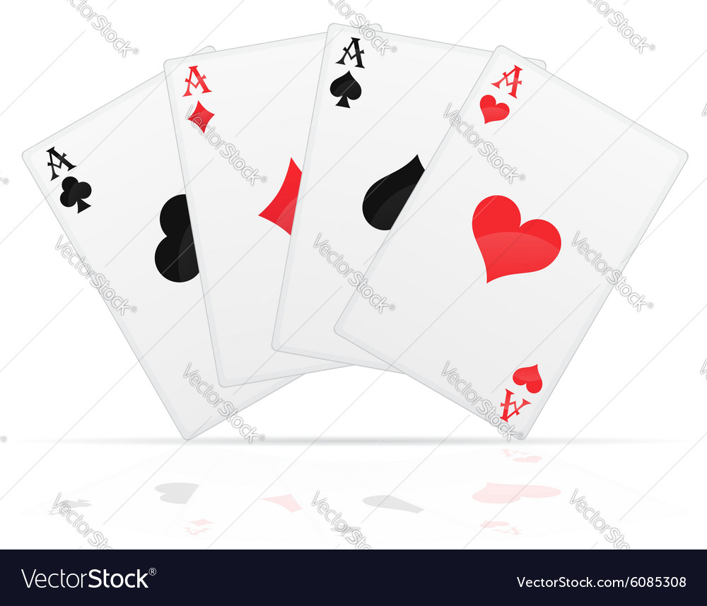 Playing cards 01 vector