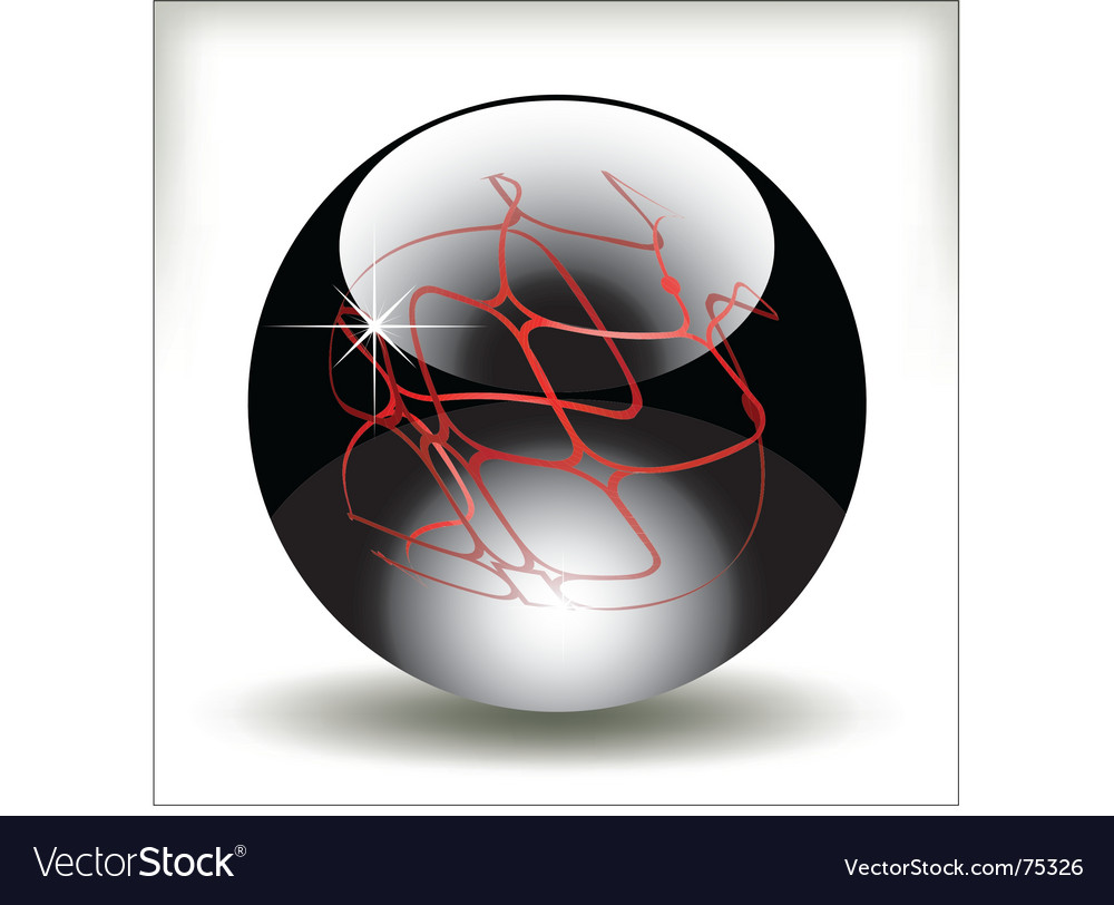 Refracting sphere vector