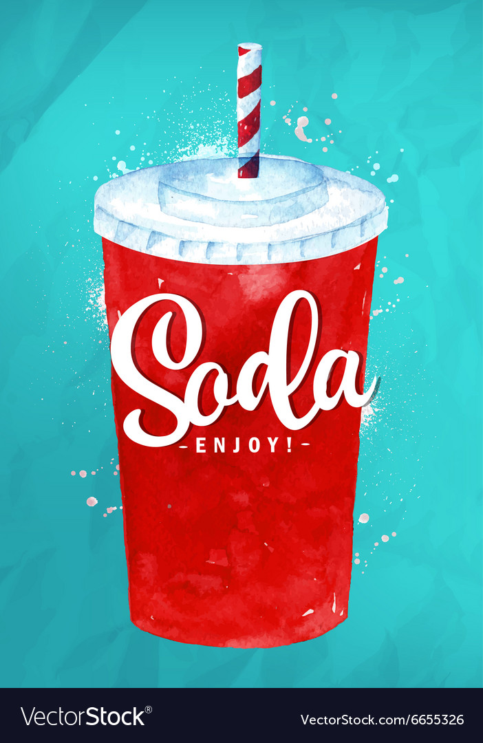 Soda color vector
