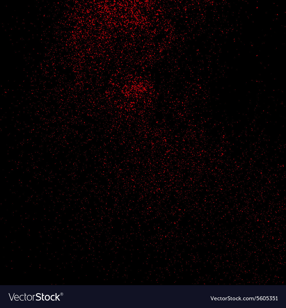 Red grainy texture vector
