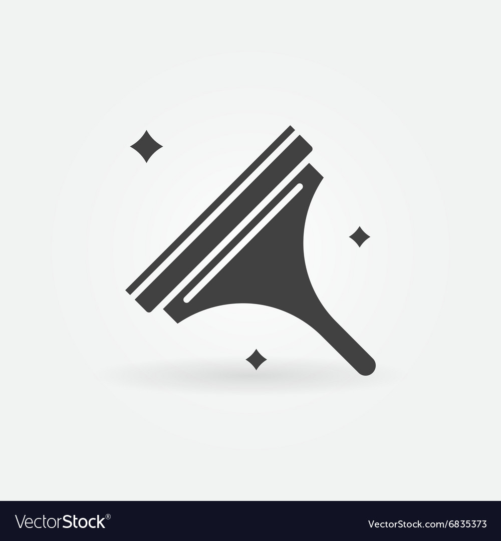 Window cleaning icon vector