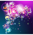3D colorful vector image vector image