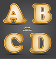 ABCD vector image