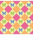 Colorful butterflies pattern vector image