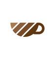 coffee cup icon logo image vector image