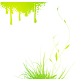 Abstract Nature Design vector image