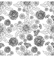 Trendy Seamless Floral Pattern vector image