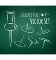 Chalkboard drawing vector image