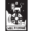 Tarot Card Wheel vector image