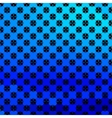 Bright blue geometrical background vector image