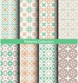 Patterns Pastel Green vector image