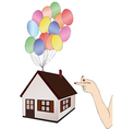 The possibility of having a home vector image vector image