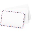 White paper envelops vector image vector image