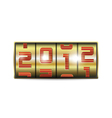 2012 new year vector image