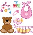 baby cards vector image vector image