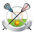Lacrosse Emblem vector image